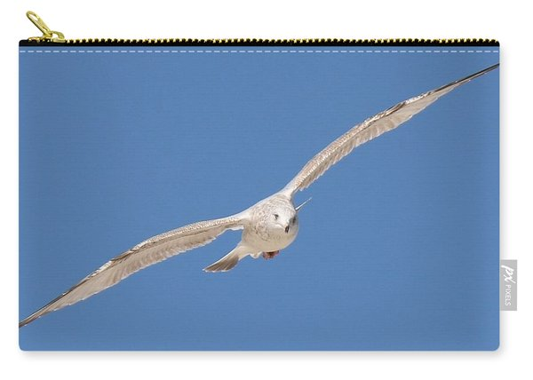 Gull In Flight  Carry-all Pouch