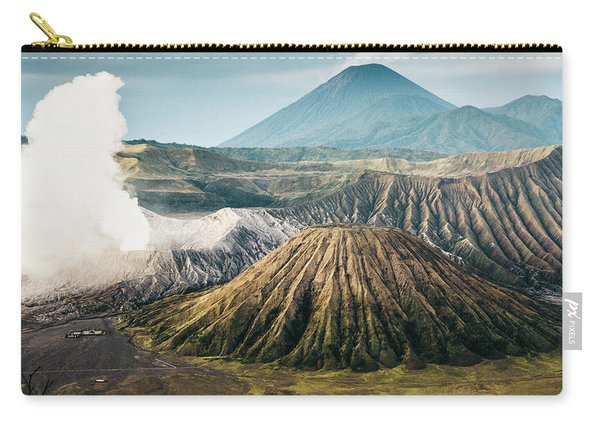 Gunung Bromo Volcano On Java Island Carry-all Pouch