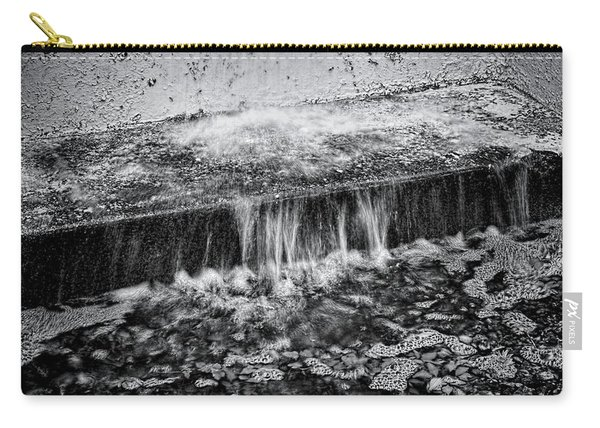 Gutter In Bw Carry-all Pouch