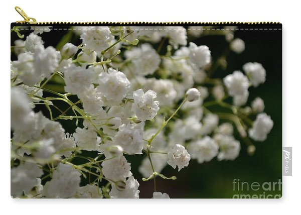 Carry-all Pouch featuring the photograph Gypsophilia by Scott Lyons