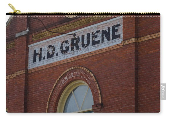 H D Gruene Carry-all Pouch