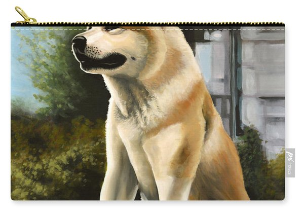 Hachi Painting Carry-all Pouch