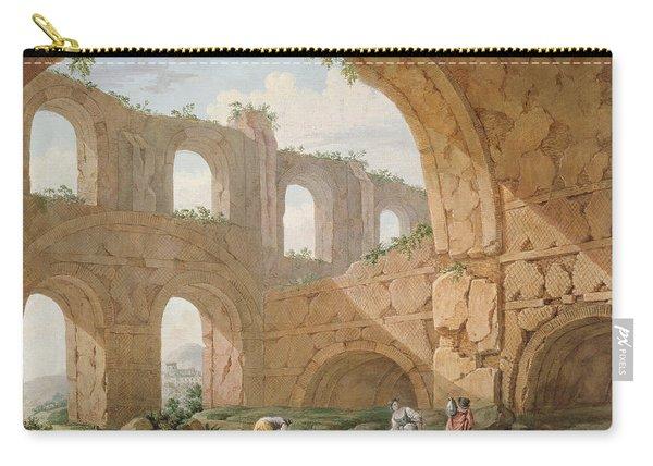Hadrians Villa, Near Tivoli Carry-all Pouch