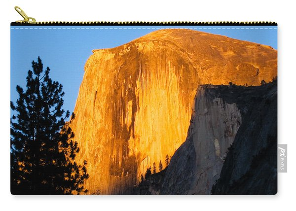 Half Dome Yosemite At Sunset Carry-all Pouch