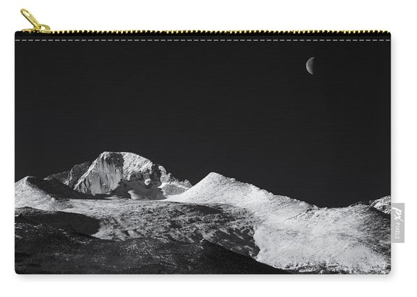 Half Moon Over Longs Peak Carry-all Pouch