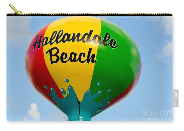 Hallendale Beach Water Tower Carry-all Pouch