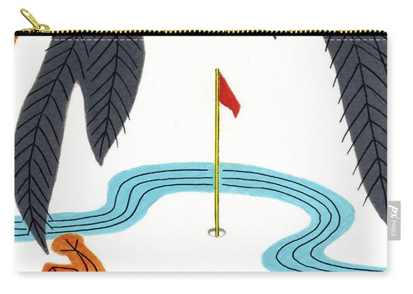 Hanafuda Golf For Cards Carry-all Pouch
