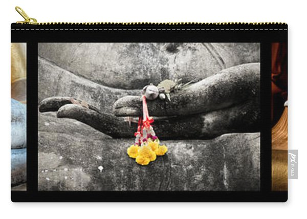 Hands Of Buddha Carry-all Pouch