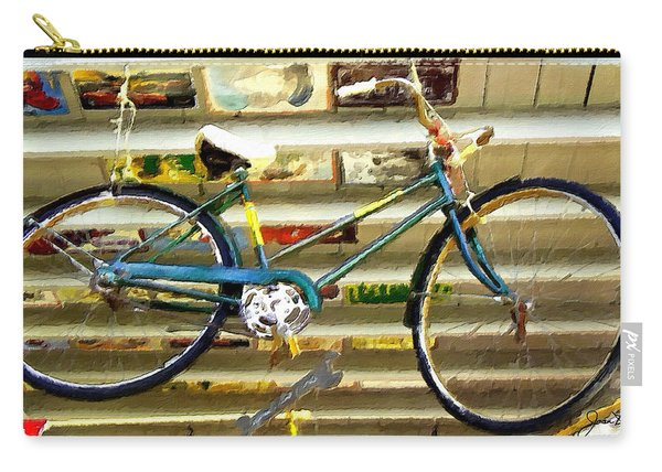 Hanging Bike Carry-all Pouch