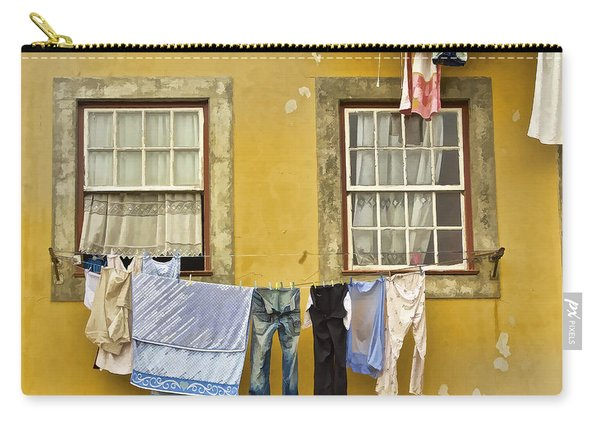 Hanging Clothes Of Old Europe II Carry-all Pouch