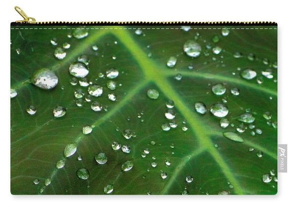 Hanging Droplets Carry-all Pouch