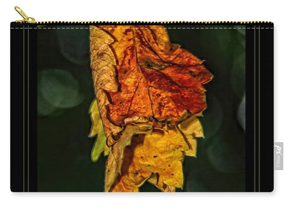 Hanging Gold Framed Carry-all Pouch
