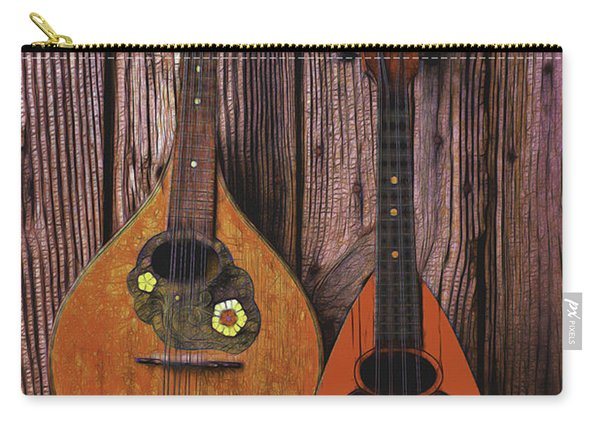 Hanging Mandolins Carry-all Pouch