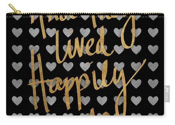 Happily Ever After Pattern Carry-all Pouch
