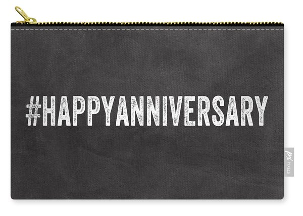Happy Anniversary- Greeting Card Carry-all Pouch