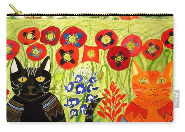 Happy Cats Carry-all Pouch
