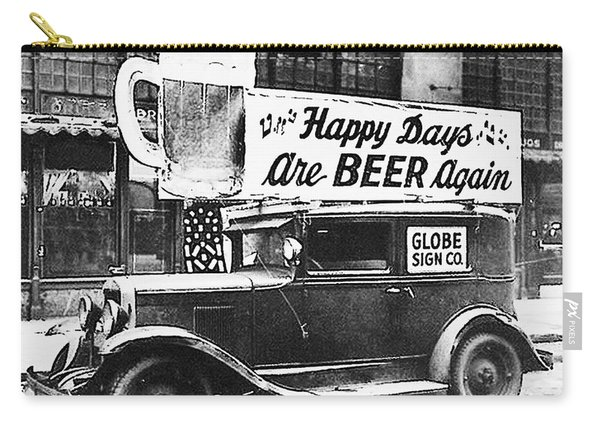 Happy Days Are Beer Again Carry-all Pouch