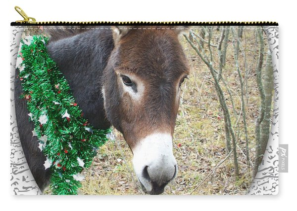Happy Hee Haw Holidays Carry-all Pouch