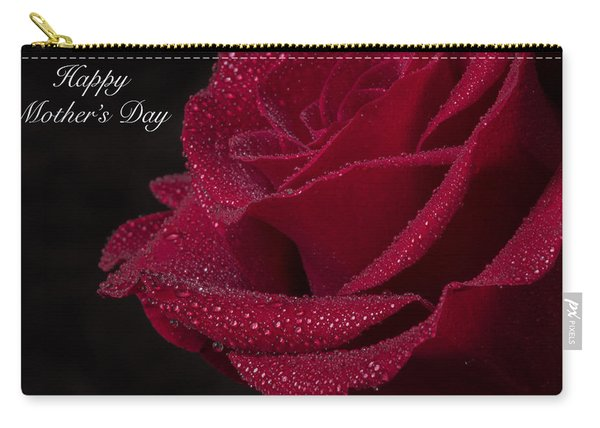 Carry-all Pouch featuring the photograph Happy Mother's Day by Garvin Hunter