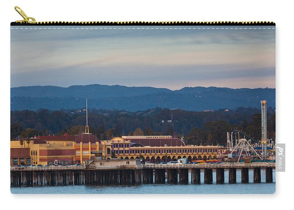 Harbor And Municipal Wharf At Dusk Carry-all Pouch