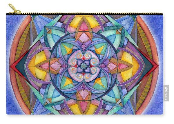 Harmony Mandala Carry-all Pouch