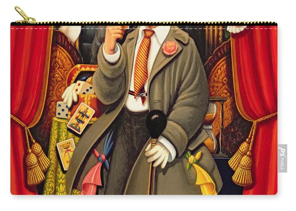 Harpo, 2010 Oils & Tempera On Panel Carry-all Pouch