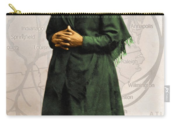 Harriet Tubman The Underground Railroad 20140210v2 Carry-all Pouch