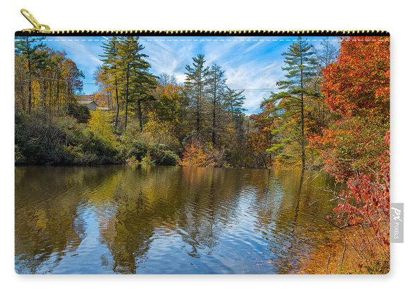 Harris Lake In Autumn Carry-all Pouch