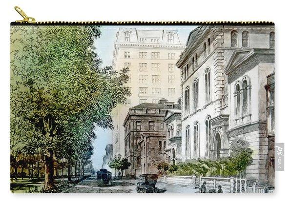 Harrison Residence East Rittenhouse Square Philadelphia C 1890 Carry-all Pouch
