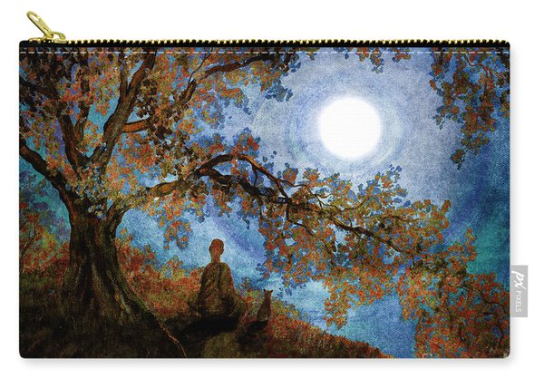 Harvest Moon Meditation Carry-all Pouch