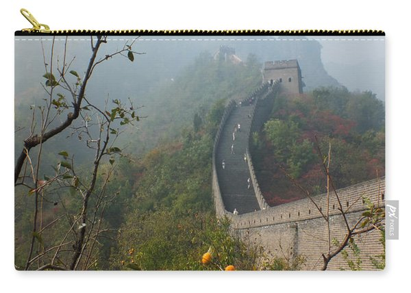 Harvest Time At The Great Wall Of China Carry-all Pouch