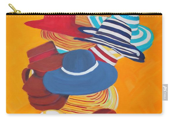 Hats Off Carry-all Pouch