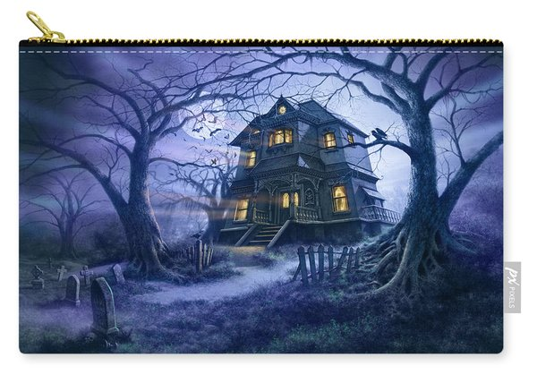 Haunted House Variant 1 Carry-all Pouch