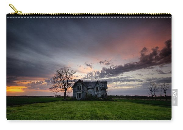 Haunted Sunset Carry-all Pouch