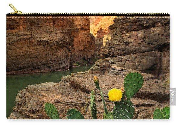 Havasu Cactus Carry-all Pouch