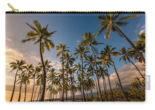 Hawaii Towering Palms Carry-all Pouch