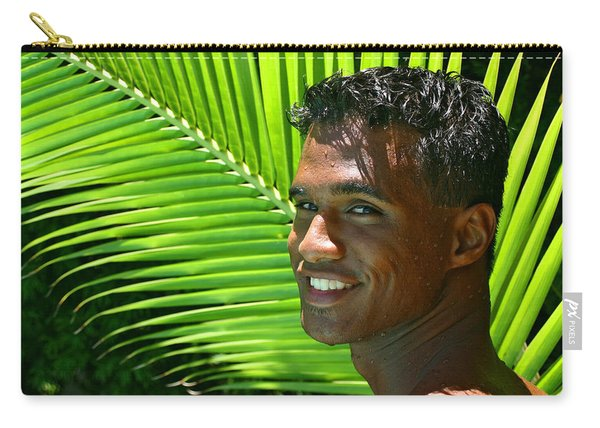 Hawaiian Smile Carry-all Pouch