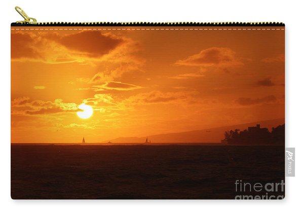 Hawaiian Sunset Carry-all Pouch