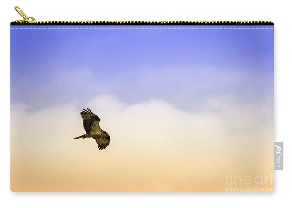 Hawk Over Head Carry-all Pouch