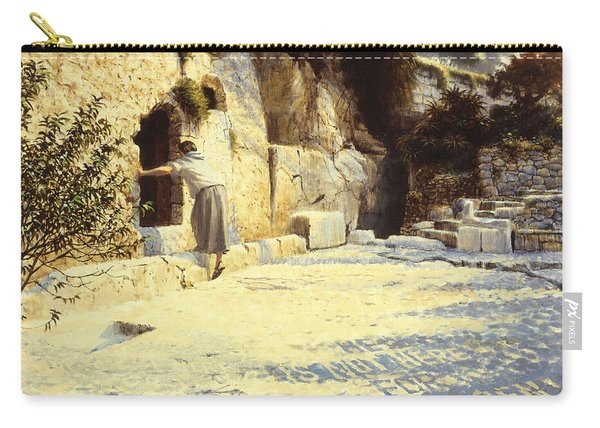 He Is Risen Carry-all Pouch