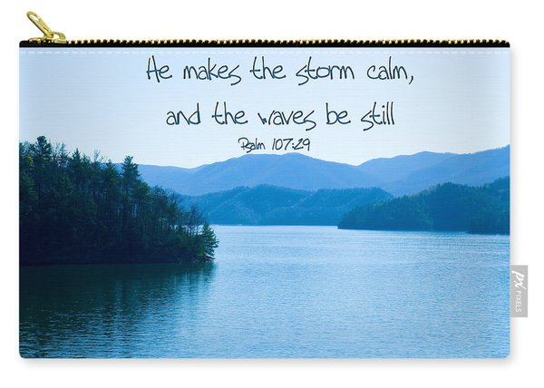 He Makes The Storm Calm Carry-all Pouch