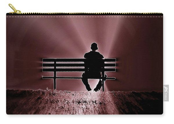 He Spoke Light Into The Darkness Carry-all Pouch