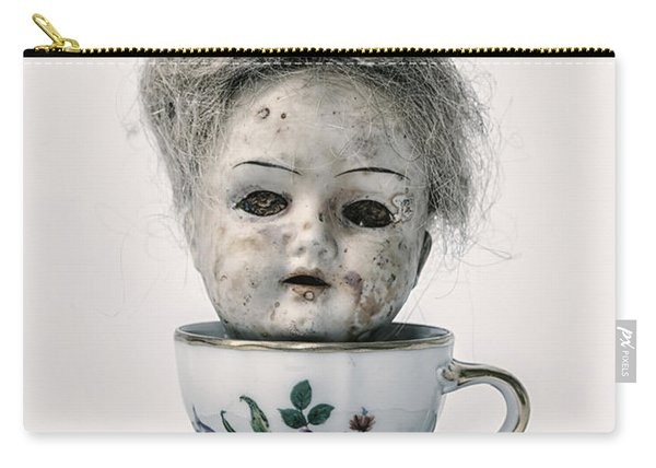 Head In Cup Carry-all Pouch