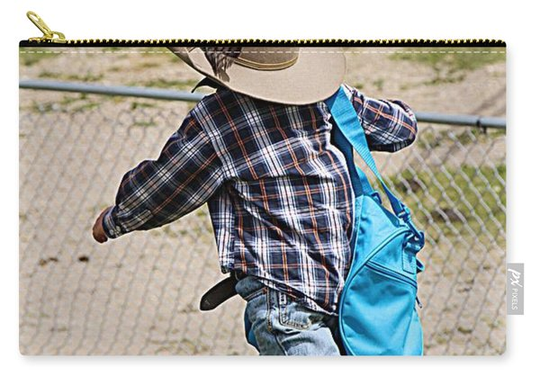 Heading For The Chute Carry-all Pouch