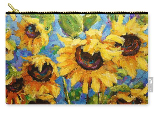 Healing Light Of Sunflowers Carry-all Pouch