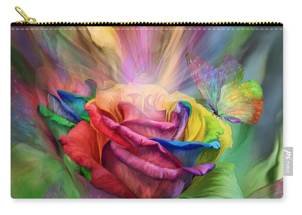 Healing Rose Carry-all Pouch