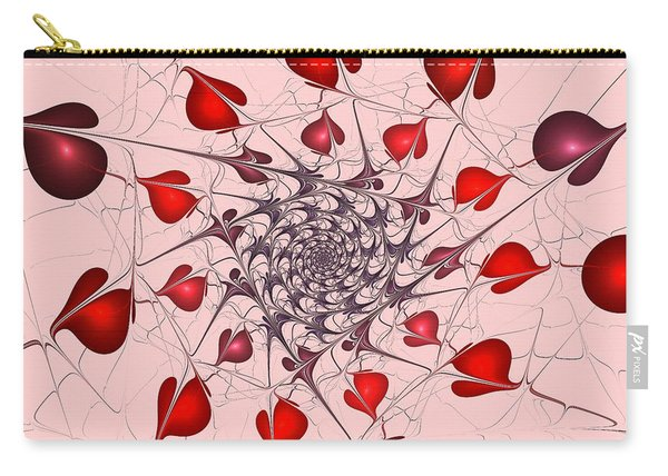 Heart Catcher Carry-all Pouch