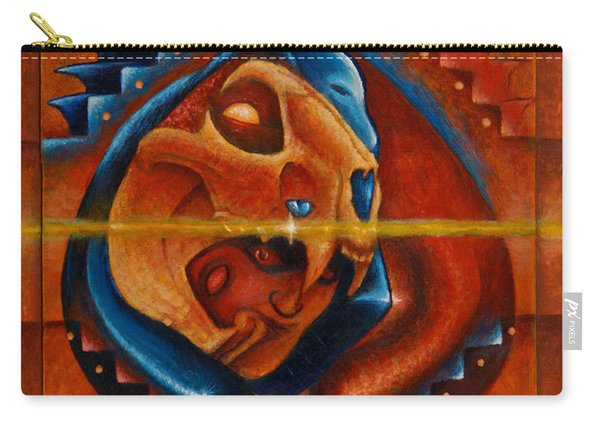 Heart Of The Jaguar Priest Carry-all Pouch