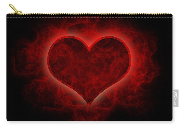 Heart's Afire Carry-all Pouch