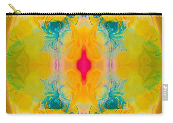 Heavenly Bliss Abstract Healing Artwork By Omaste Witkowski  Carry-all Pouch